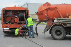 Чистка канализаций на заводах, предприятиях, комбинатах