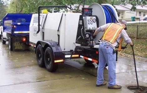 Чистка канализации машиной