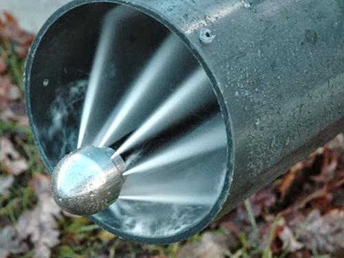 Прочистка канализации водой под давлением