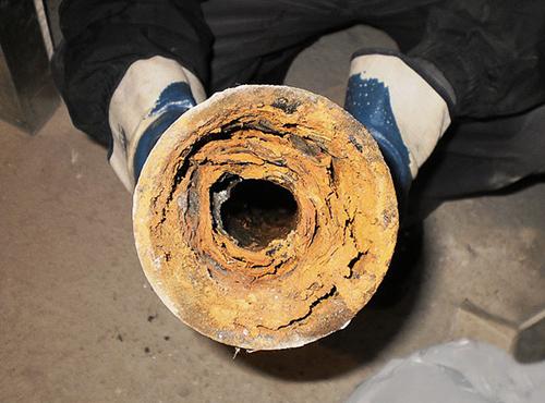 Пробивка канализации в частном доме
