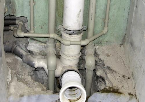 Прочистка стояка канализации