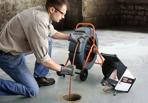 Чистка канализации на предприятии